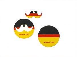 FS-4445 Getränkeuntersetzer + Schnurrbart Deutschland - 2