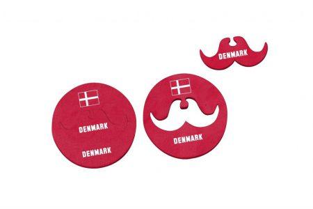 FS-4445 coaster+moustache DENMARK