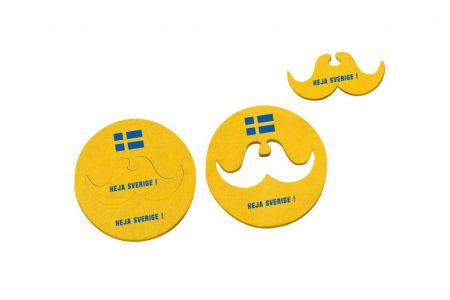 FS-4445 coaster+moustache Sweden