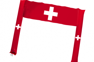 em2020-IF-3000 Klatschstangen + Banner Schweiz